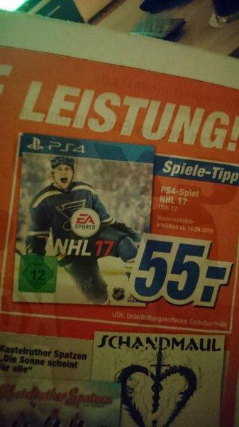 [Lokal Bonn] NHL 17 für 55€ bei Expert Bielinsky