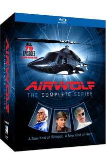 [Amazon.com] Airwolf - Komplette Serie auf Bluray