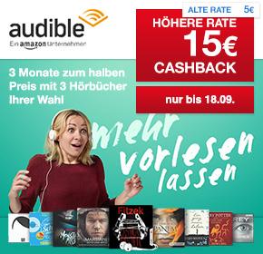 3 Monate Audible Flexi-Abo kostenfrei! Nur bis 18.09. und nur für Neukunden!!!