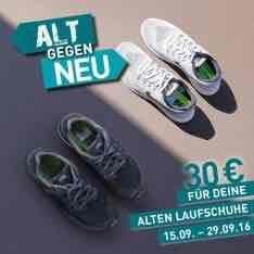 Runners Point Alt gegen Neu Aktion -30€ Rabatt für eure alten Treter!