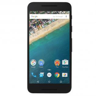 [FASTCARDTECH] Google Nexus 5X H791 - 5,2 FHD IPS, Snapdragon 808, 2GB RAM/32GB intern, USB Type-C, Fingerabdrucksensor, 12,3MP + 5MP Kamera, 2700 mAh mit Quickcharge, Android 7