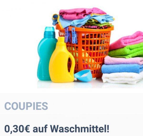 [Coupies] 0,30€ Cashback für Waschmittel