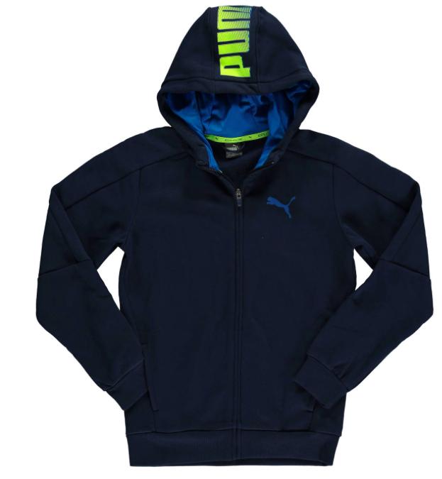 20% Rabatt auf Kindermode, auch auf Sale bei [GALERIA Kaufhof] z.B. Sweat-Jacke von Puma für Jungs für 27,99€ bei Abholung