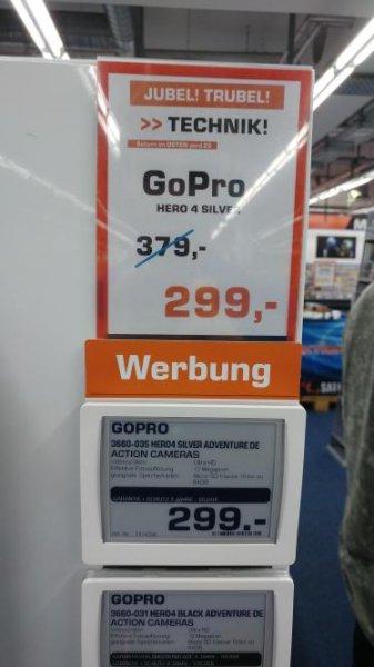 [Lokal] GoPro HERO 4 SILVER bei Saturn Magdeburg