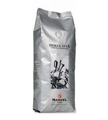 Amazon: Manuel Caffé DOLCE VITA Café-Espresso ganze Bohne 500g @7,99 Euro inkl. Versand (Prime)
