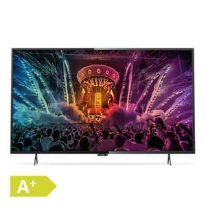 Philips 43 PUS6101 4K UHD TV (3840x2160p), EEK A+, 4xHDMI, Smart TV, 3x USB, DVB-T/T2/C/S/S2,  400 cd/m² für 413€ @Rakuten.de