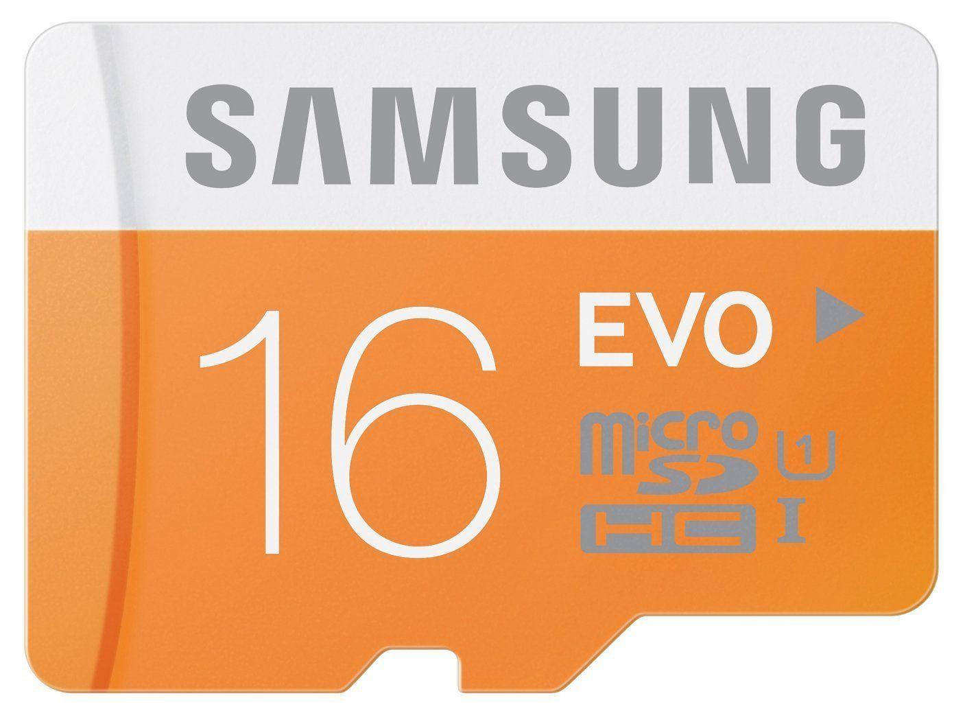 Übersicht microSD Karten inklusive Versand (16GB für 5,21€, 32GB für 8,69, 64GB für 15,21€)