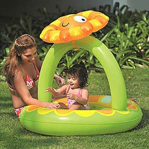 Amazon plus Produkt : Jilong Planschbecken Sunflower Canopy Pool - Nur 4,17 €