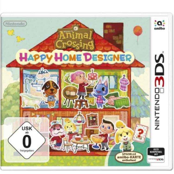Amazon Prime Animal Crossing: Happy Home Designer - [3DS] für 15,50