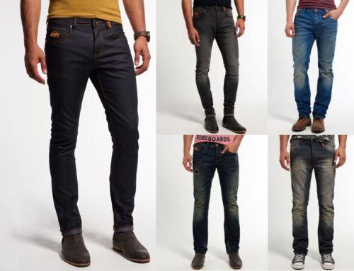 Herren Superdry Jeans Versch. Modelle und Farben bei eBay für unter 20€
