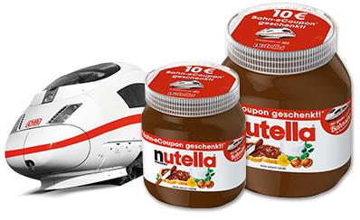 [AYNF] 13,95kg Nutella [3,65€/kg] + 19 x 10€ Gutschein DB + Shoop/qipu