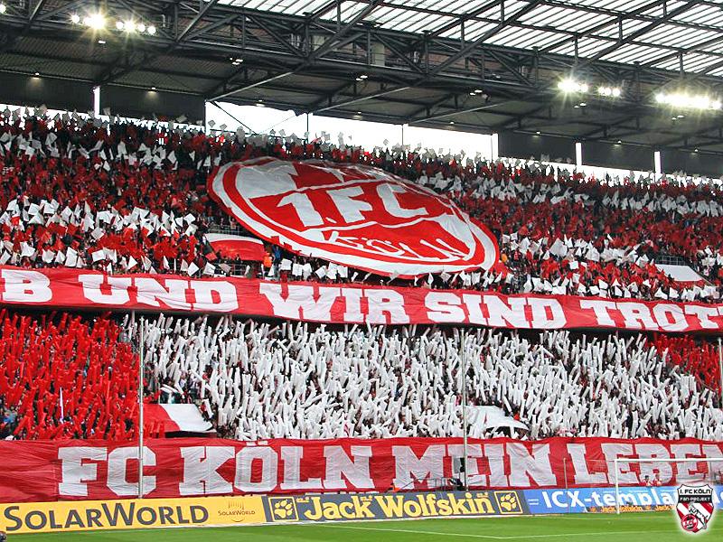Glückstickets für den 1. FC Köln gegen RB Leipzig