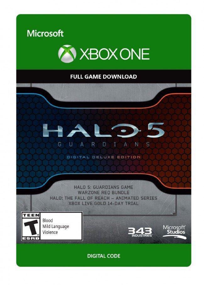 Halo 5 Guardians Digital Deluxe Edition @CDKeys