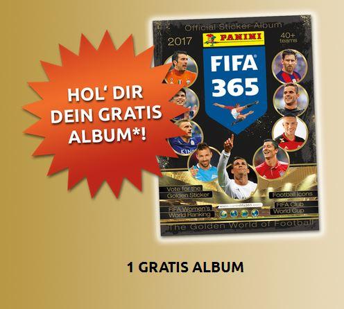 Panini Sammelalbum FIFA 365 für Umme bestellen!