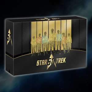 Star Trek 50th Anniversary Box [Blu-ray] inkl. Vsk für 118,75 € > [amazon.fr]