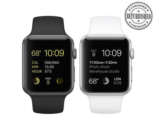 [@ibood]  Apple Watch Sport 42 mm (refurbished von Apple]