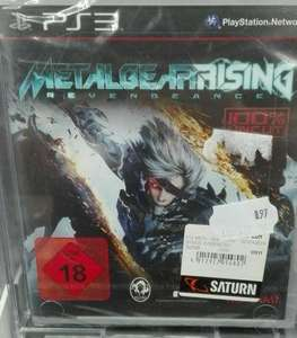 Metal Gear Rising : Revengeance Ps3 [Saturn Troisdorf]
