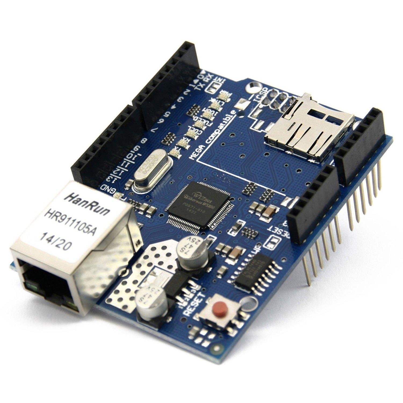 Arduino Ethernet Shield (Uno, Duemilanoe, Mega 1280/2560) [Amazon.de] 0,50€