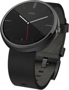 Motorola Moto 360 Smartwatch für Android & iOS für 84,98€ [gebraucht - gut] oder für 106,98€ [sehr gut] [Rebuy]