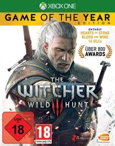The Witcher 3: Game of the Year Edition (inkl. Hearts of Stone und Blood & Wine) (Xbox One) für 29,99€ [Xbox Store]