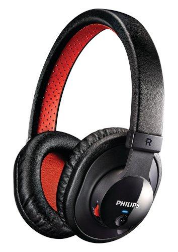 [Amazon] Philips SHB7000/10 Bluetooth Stereo Headset  schwarz/rot Idealo 50,50 €