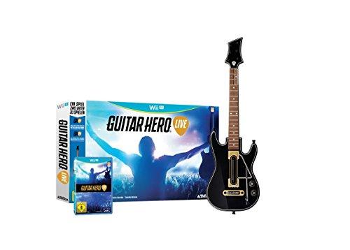 Guitar Hero Live - [Wii U] Spiel und Gitarre amazon prime