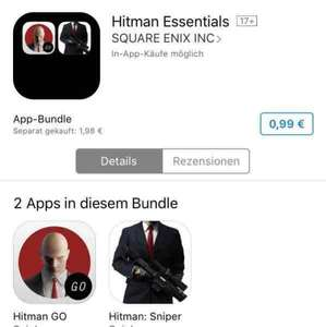 Hitman Essentials iOS Apps im Bundle (Hitman Go und Hitman Sniper) Normalpreis 1,98€