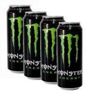 Monster Energy 4er-Pack für 4,69 EUR - Pistons EDEKA Ettlingen - OFFLINE