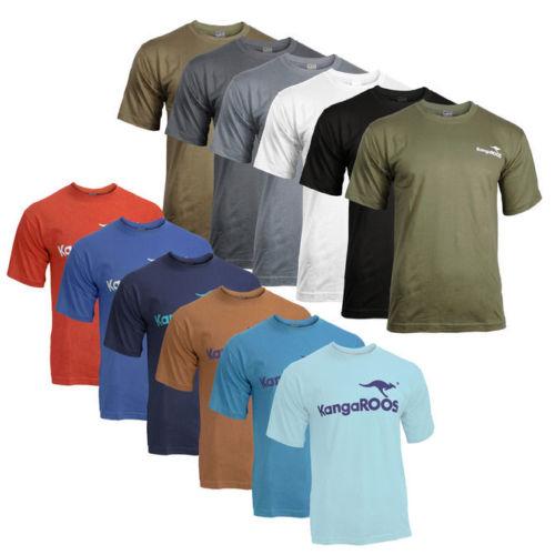 2er Pack KangaROOS T-Shirt mit Logoprint Shirt Herren viele Farben und Größen für 11,99€ @ebay.de