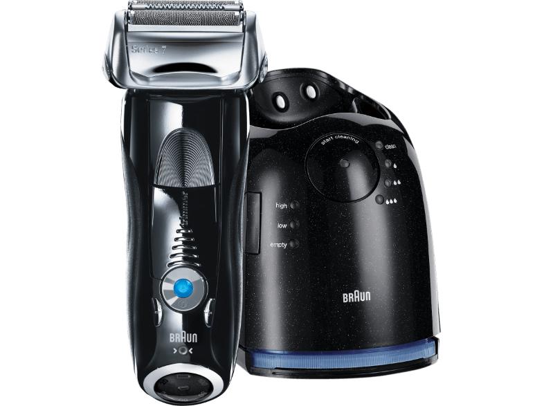 BRAUN Herrenrasierer Series 7 – 760cc System mit Reinigungsstation+ 5 Reinigungskartuschen für 124€ [133€ incl. Versand nach DE] @Saturn.AT