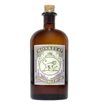 [AYNFresh + Shoop Gutschein] 2x Monkey 47 Schwarzwald Dry Gin 47% + 8x Thomas Henry Tonic Water 1L = 9 Liter Stoff & Schnaps