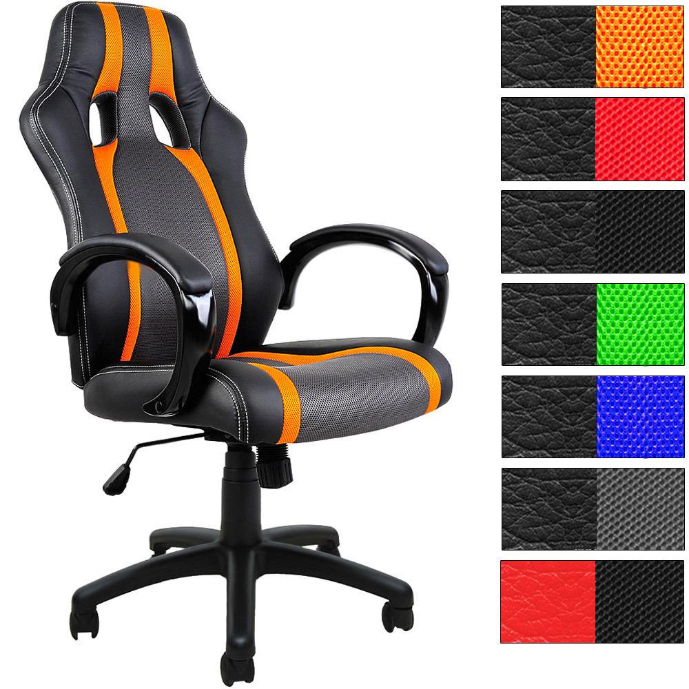 Bürostuhl Sportsitz Chefsessel Schreibtischstuhl