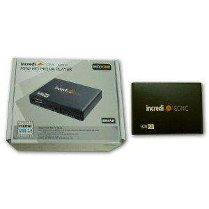 [wieder zu haben + billiger] Mini FULL HD Player (IncrediSonic Ultra Play IMP150) @ Amazon 24,95€