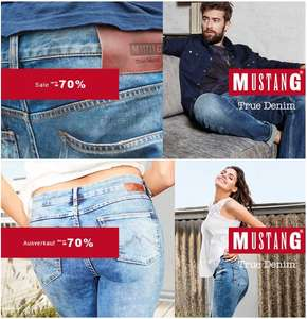 Mustang Sale ca. 70% -80%  Rabatt im brands4Friends-Outlet auf ebay, versandkostenfrei, 140 Artikel