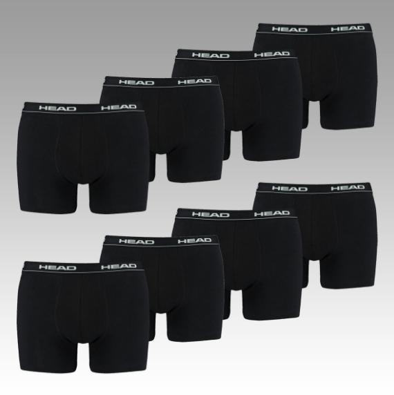 8 HEAD Basic Boxershorts (verschiedene Farben + Größen) für 23,95€ inkl. Versand statt 34,95€