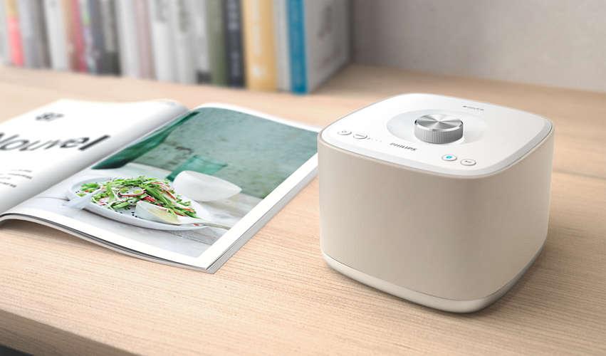 [Tchibo] Philips Multiroom-Lautsprecher izzy BM5, cremefarben