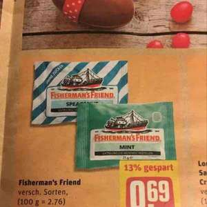 [REWE] Fishermans Friend versch. Sorten 0,69€