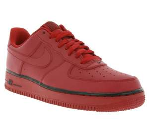 [@outlet46]  Nike Air Force 1 Herren Sneaker Rot (488298 627)