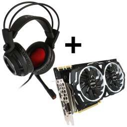 [Caseking] MSI GeForce GTX 1080 Armor 8G OC + MSI DS502 Gaming Headset