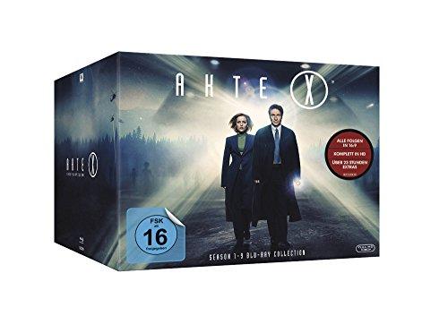 Akte X - Season 1-9 Collection auf 55 Blu-rays bei Amazon.de für 89,97€