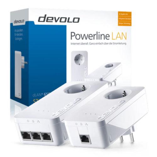 Devolo dLAN 650+ Triple Starter Kit für 79,99€ inkl. Versand (statt 96€)