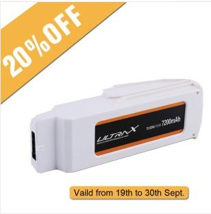 Bis zu 50% Rabatt auf LiPo Batterien (Tattu und Gens Ace) bei Gensace - z.B. Akku für die Blade Chroma Kameradrohne für 58,39€