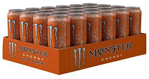 [Amazon PRIME] 24x Monster Energy Sunrise für 27,36€ (89 cent / Dose)