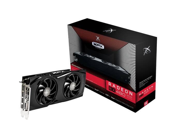 XFX Radeon RX 480 GTR, Grafikkarte XFX Radeon RX 480 GTR, Grafikkarte