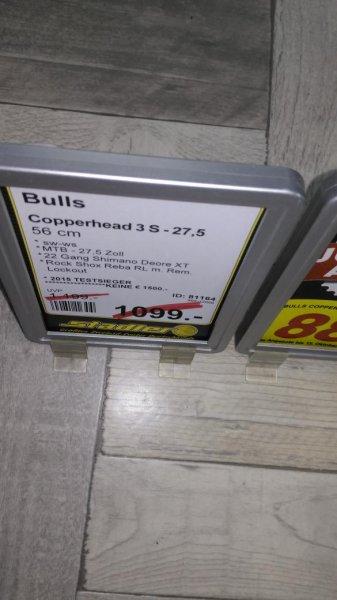 bulls copperhead 3S bei stadler regensburg