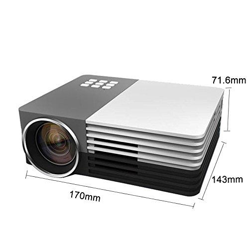 GemTune GT50 LCD LED Multimedia Mini Projektor (amazon.fr)