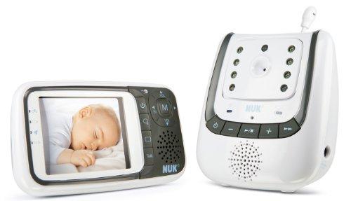 NUK Babyphone Eco Control+ Video (20€ Rabatt durch Gutscheincode mit amazon.fr prime TEST-Monat)