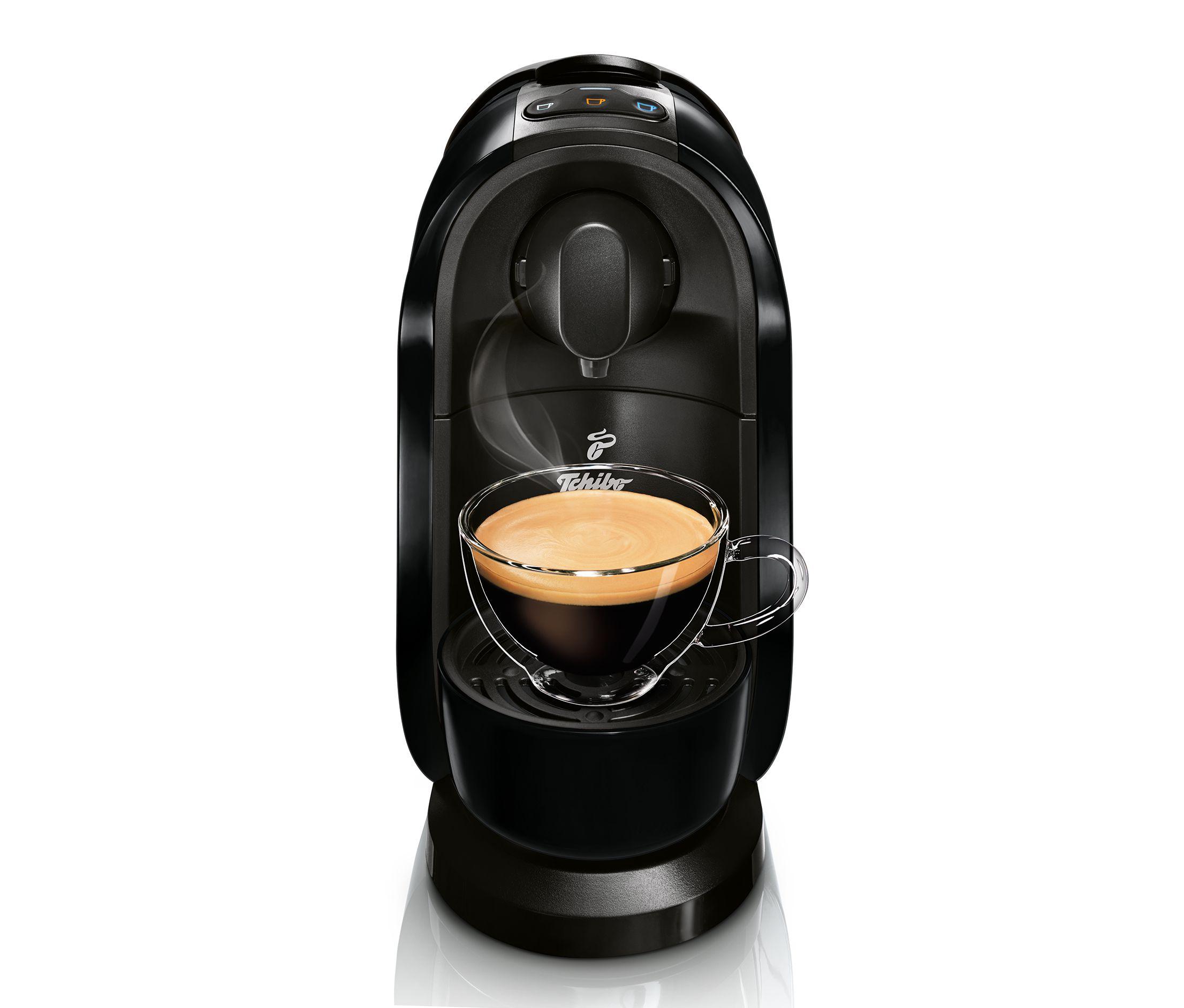 Tchibo Cafissimo Kaffeemaschine bei Eröffnung eines Tagesgeldkontos geschenkt bekommen
