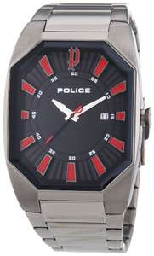 Police Herren-Armbanduhr OCTANE Analog Quarz Edelstahl beschichtet P13755JSU-02M