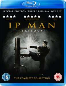 (UK) IP Man 1,2 & 3 Box für 14.55€ @ Zavvi
